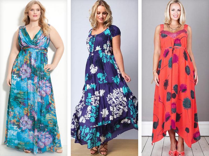 Модели платье для полных своими руками