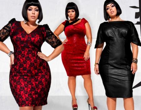 Платья для женщин с полными бедрами