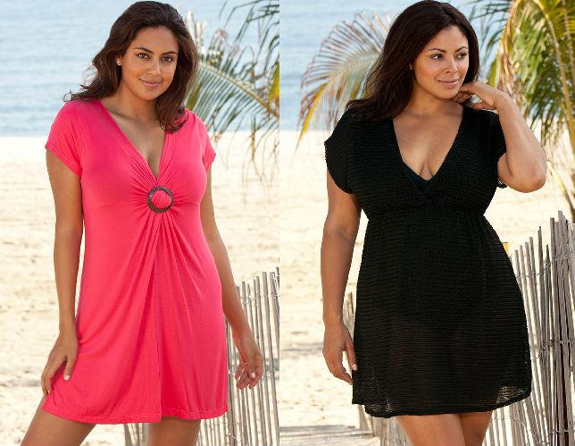 Пляжная Одежда Для Полных Женщин Купить