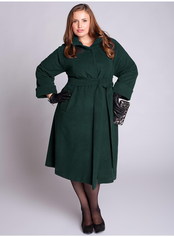Пальто для полных женщин фото пусть