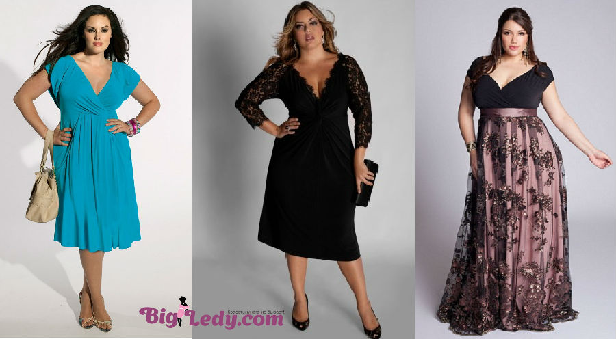 Красивые вечерние платья с большой грудью