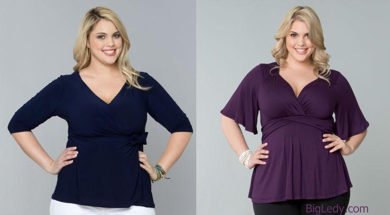 Модели блузок для полных доставка