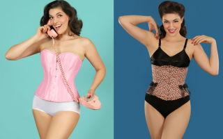 Корректирующее белье для полных женщин, чтобы выглядеть стройнее!