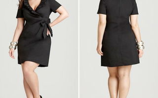 Черное платье для полных женщин — элегантная вещь в модном гардеробе!