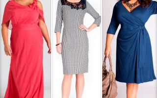 Выбираем платья для полных женщин после 40 лет: 7 основных правил
