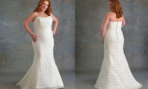Свадебные платья для полных девушек в греческом стиле