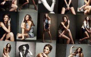 Позы для фотосессии для полных девушек