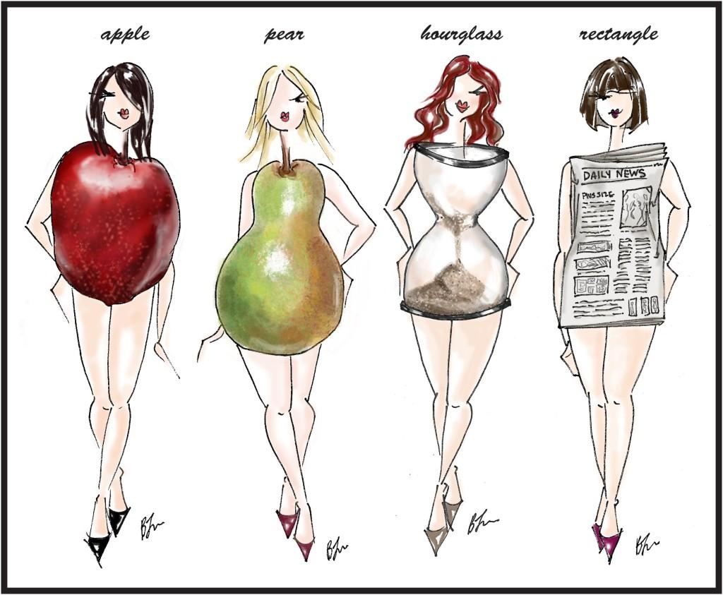 мода по типу фигуры