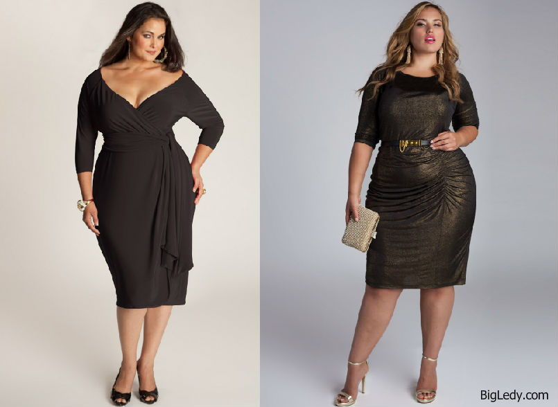 черное платье футляр